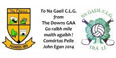 John Egan Tournament July 10th to 12th 2014