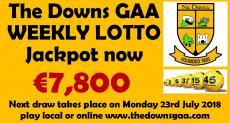 Club Lotto Jackpot €7,800 !