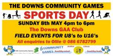 Community Games Sports Day