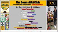 Pat Walsh Tournaments this Sunday