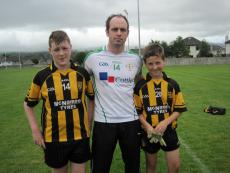 Killucan's Brian Smyth with his cousins David Smyth and Oisin Raleigh