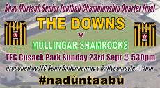 SFC Quarter Final this Sun