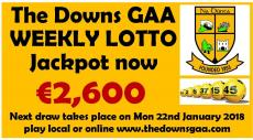 Club Lotto Jackpot is €2,600 !
