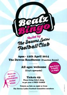 Ladies Football Fundraiser