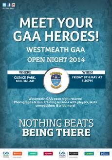 Westmeath Open Night this Fri