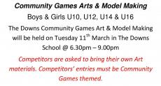 Community Games Notice