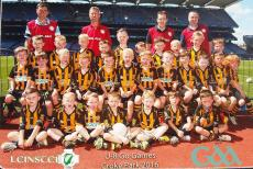 U8 Boys play in Croke Park