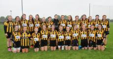 Girls U14s that drew Final with Caulry