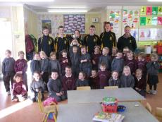U16 Champions visit Curraghmore School