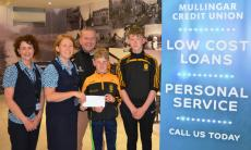Credit Union grant for boys U14's