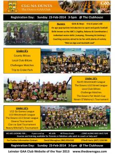 Boys Flier for Registration Day