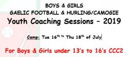 Youth Coaching Sessions 2019