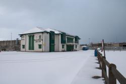 Páirc Bharróg Under Snow