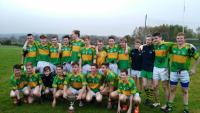 2015 Kilmurry Under 16 A County Champions