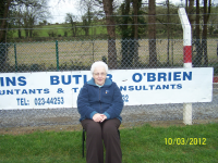 Margaret at Blackrock League Game