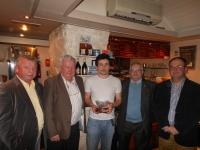 Dan Lordan Man of the Match SE Football Final 2011