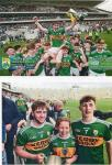 Jack, Sean, Gráinne. Munster minor champions and Primary Game. 22 June 2019