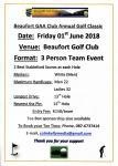 Beaufort G.A.A. Club Golf Classic. Friday, 1 June 2018