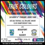Beaufort v Easkey, Sligo.  AIB All Ireland Junior Final. Saturday, 9th February 2019. 3pm. Croke Park