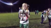 HANNAH WITH  LEAGUE CUP 2014