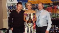 Player of Year 2014. Ciaran,Sarah-Jane & Paul