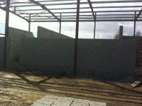 Walls taking shape