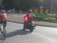 Manky leads us in to Killarney