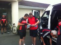 Logistics Team planning Killarney to Mizen