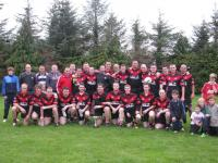 Junior B League Win 2011