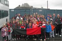 Under 8's team at Croke Park 2013