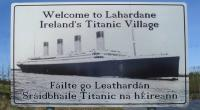 Titanic Village Sign