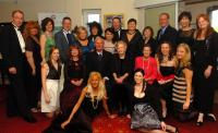 Pat Canavan Family Group at the Mayo Titanic Ball 13th April 2012