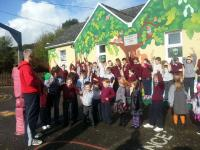 Chairman John O'Callaghan at Kilbarry NS