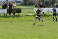 Eoin goes in for his try!!