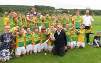 U13 County Winners with Tommy Buckley