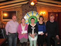 Spin and Win Winners March/April 2014