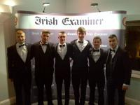 Cloughduv representatives at Rebel Og Awards in RPH