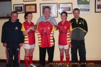 2012 Ladies Jersey Presentation