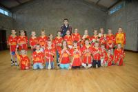 Tom Kenny with hurling panel
