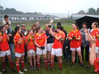 County Cup presentation 2009