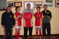 Ladies Jersey Presentation 2012