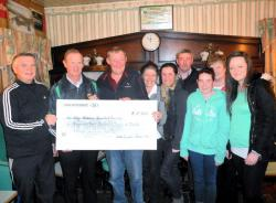 Cheque Presentaion to Crumlin Hospital