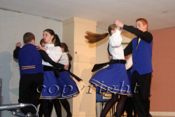 In full flight during the Scór na nÓg finals held in Mouncoal 2008
