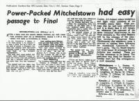 1961.Kinsale V Mitchelstown J.F.C.