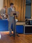 Brian Murphy speaking at the Dinner Dance 2011