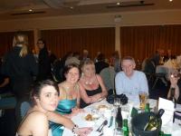 Enjoying the Dinner Dance 2011