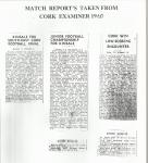 1961 Match Report's J.F.C.