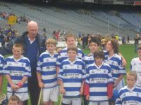 Ger and the U12 hurlers in Croker