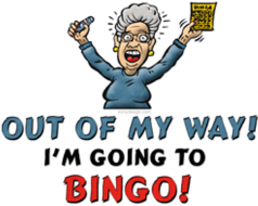 Crazy Bingo - Sunday 3rd December at 2.30 for all ages!