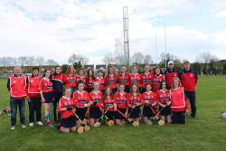 Well done to camogie team who travelled to Camogie National Féile